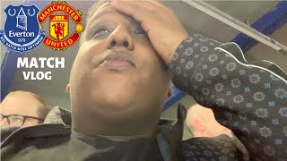 Everton 4-0 Manchester United | Matchday Vlog | F****ING Disgrace!!!