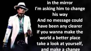 Michael Jackson Man in the Mirror LYRICS HQ.mp3
