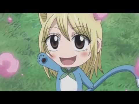 Fairy tail happy human form