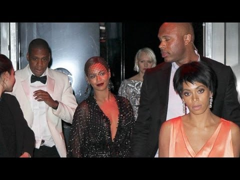 Beyonce, Jay Z, Solange SPEAK OUT on Elevator Attack Fight Video with Statement