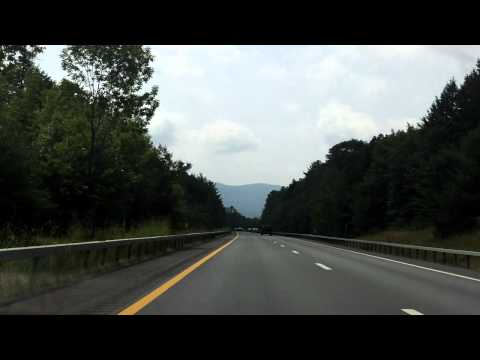 Adirondack Northway (Interstate 87 Exits 23 to 20) southbound