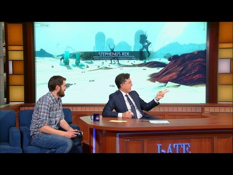 Watch No Man's Sky Dev Play the PS4 Game on Stephen Colbert's Late Show