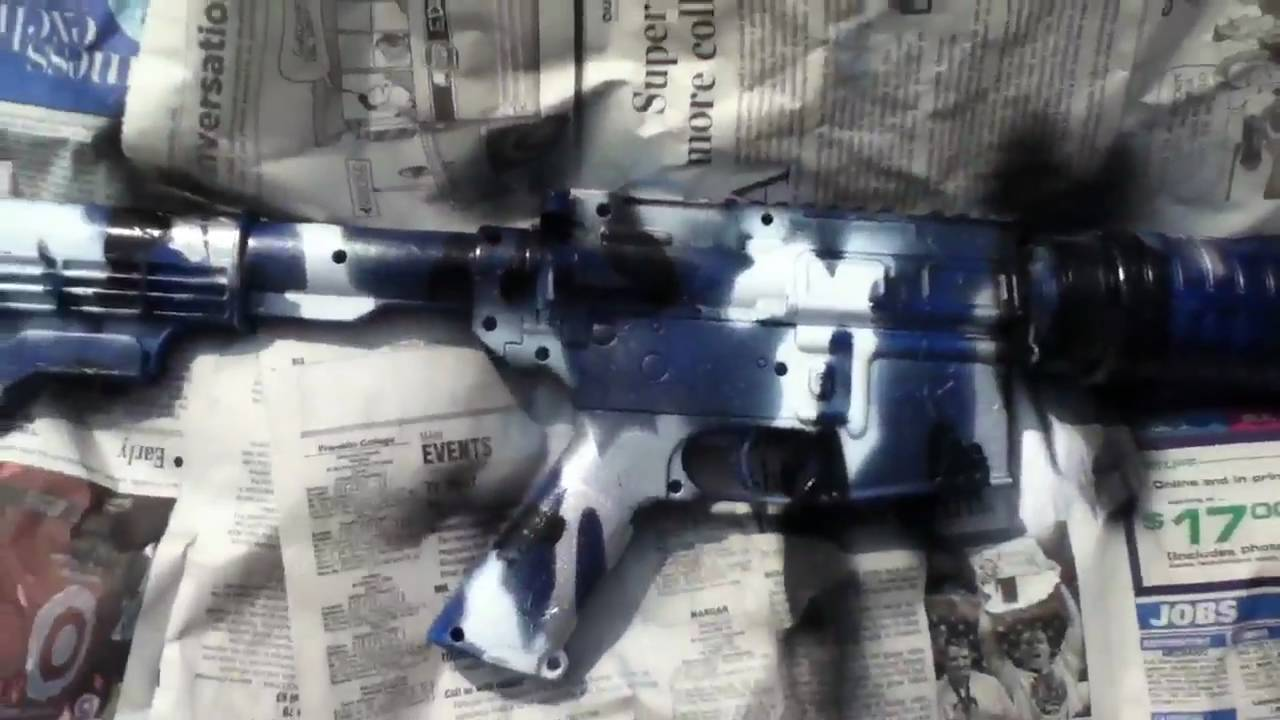 How To Remove Paint From Airsoft Gun