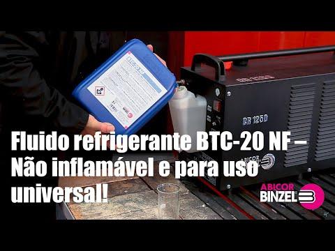 Fluido refrigerante BTC-20 NF – Não inflamável e para uso universal!