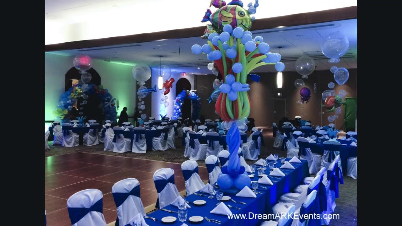 Under The Sea Theme Event Decoration Ideas
