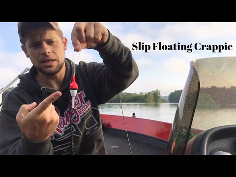 How To Slip Float To Catch Crappie
