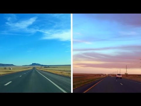 Beautiful HD Time-Lapse Drive Across the USA in 5 Minutes