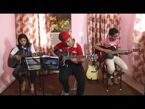 Tu Tu Hai Wahi | Hunar - Joy - Arhan | Strings Music Academy Patiala 85560-17171