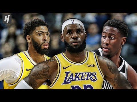 Los Angeles Lakers vs Brooklyn Nets - Full Game Highlights   October 12, 2019   2019 NBA Preseason