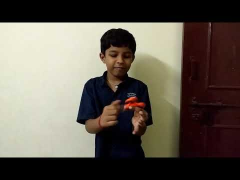 Fidget spinner demonstration by pandu