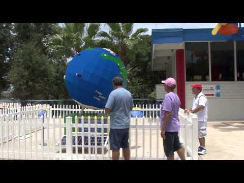LEGOLAND Florida and Tampa Electric LEGO Globe B-roll