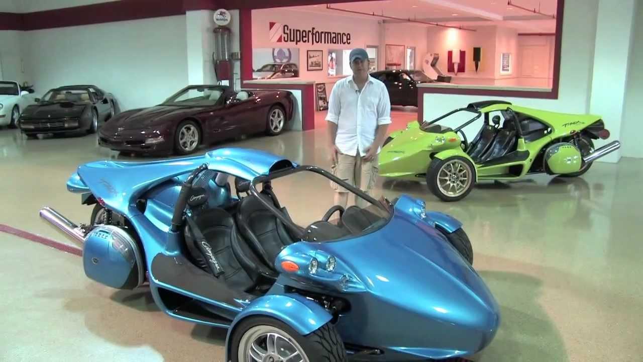 2011 Campagna T-Rex 14R--D&M Motorsports Video Test Drive ...