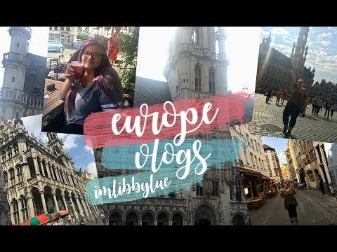 EUROPE VLOG ONE | Flying to Belgium!!!