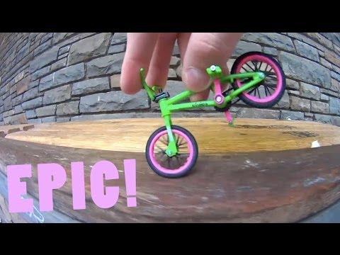 трюки на фингер bmx - YouTube