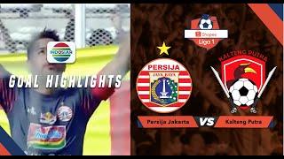 Persija Jakarta (3) vs (0) Kalteng Putra - Goal highlight | Shopee Liga 1