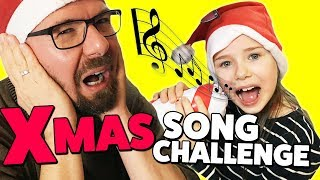 LULU SONG CHALLENGE #4 - XMAS Edition! Lulu singt Weihnachtslieder 😍  Lulu & Leon