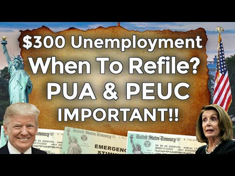 When To Reapply!? UNEMPLOYMENT BENEFITS EXTENSION UPDATE LWA PUA PEUC FPUC SSI EDD 11 WEEKS BOOST