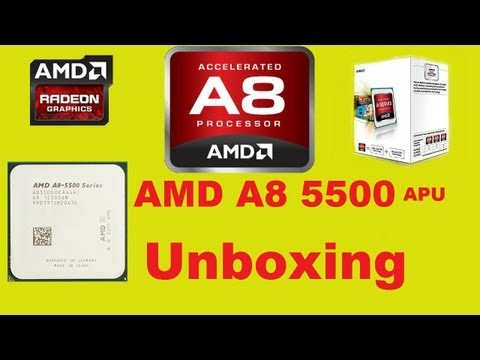 Amd A8 5500 Apu With Radeon Tm Hd Graphics 320ghz