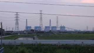 夕方の 中部電力碧南火力発電所(たんトピア) (碧南市)Hekinan Tan-topia  Chubu Electric Power Co., Inc. (hekinan)