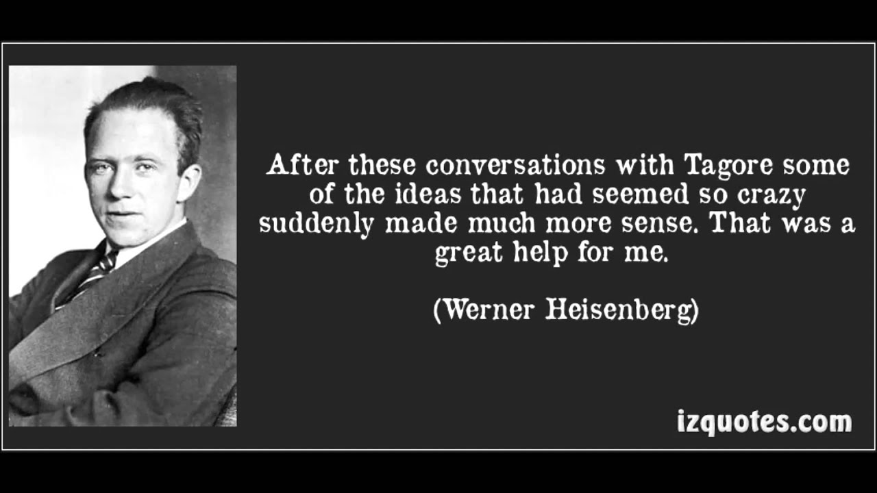 God Quotes Hd Wallpaper Werner Heisenberg On Quantum Theory And Language