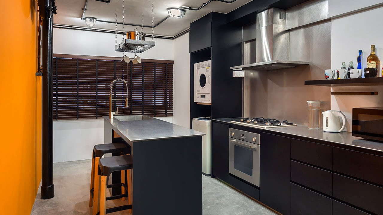 24 Marvelous Industrial Kitchens   Design Ideas