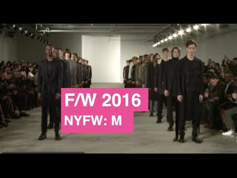 Ovadia & Sons Fall / Winter 2016 Men