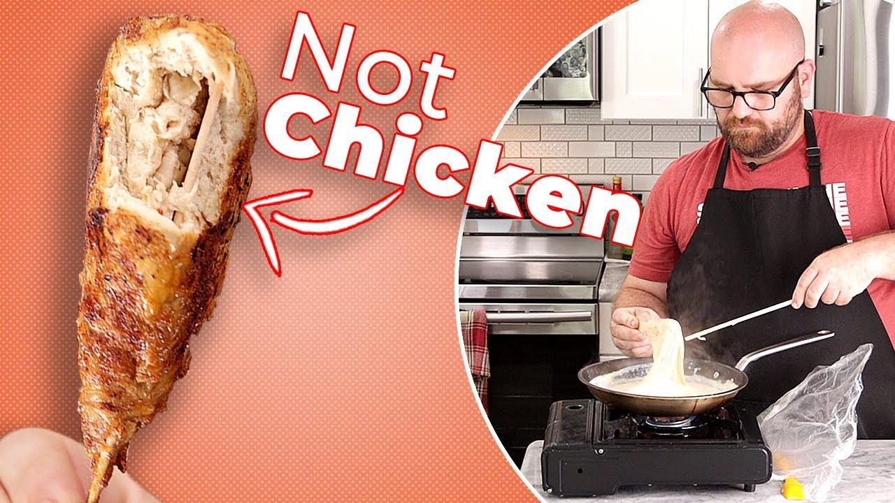 2 Ingredient Vegan HOT WING RECIPE that you'll not regret!!