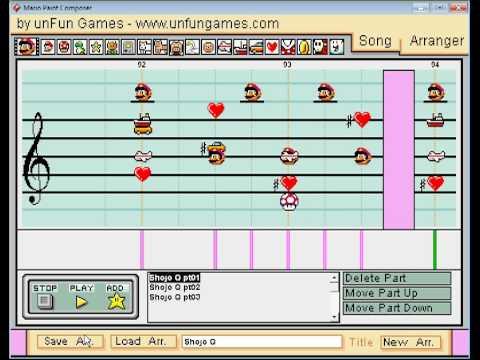 Mario Paint Composer - Pani Poni Dash! OP 3 Shoujo Q