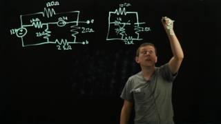 Circuits 1 - Thevenin Equivalent Circuit - Voorbeeld