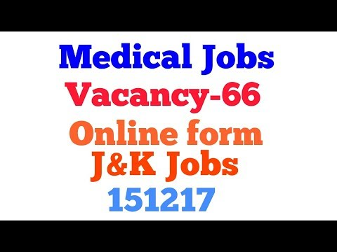 JKPSC Recruitment 2017 For 66 Ayurvedic / Homeopathic Medical Officer posts