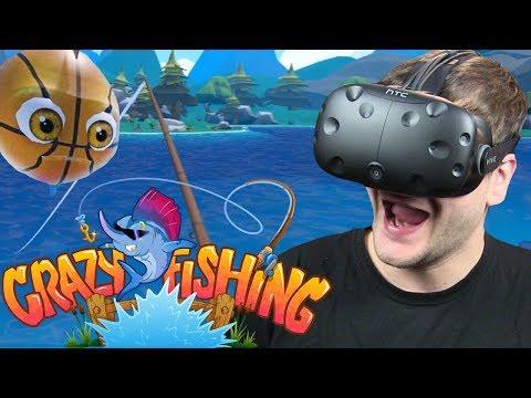 SZALONE WĘDKOWANIE - Crazy Fishing - HTC VIVE VR