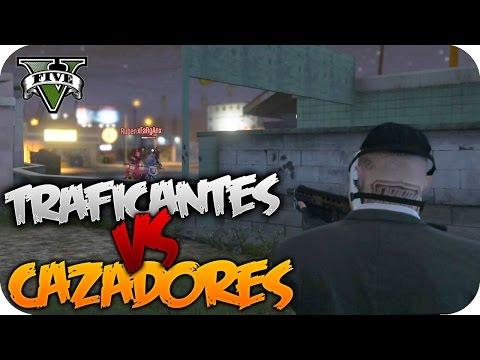 MATAME SI PUEDES!! #2 | TRAFICANTES CONTRA CAZADORES | GTA V ONLINE GAMEPLAY | Flowstreet