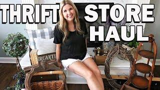 Thrift Store Haul 2019 ⚫ Farmhouse Home Decor Finds ⚫