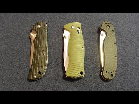 Обзор замков ножей: Фрейм, Аксис, Лайнер лок на канале Doctor Obzorin.