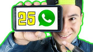 Top 25 mejores trucos de WhatsApp