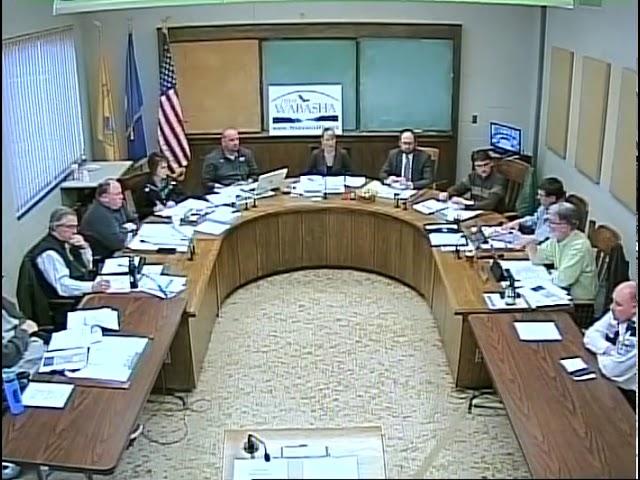 04 02 19 Wabasha City Council Meeting