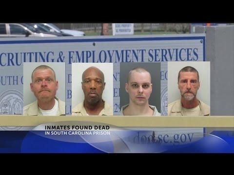 Inmates found dead in SC prision