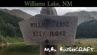 Camping at 11000ft Williams Lake, New Mexico