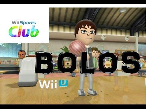 Wii Sports Club  WiiU  Demo- Bolos. [HD]