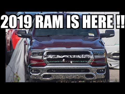THE NEW 2019 RAM IS HERE!!! & ITS SO UGLY!!!