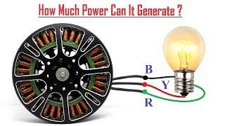 الطاقة الحرة هي خدعة | جعل 220v AC مولد من BLDC موتور الفيديو
