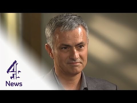 Jose Mourinho on the World Food Programme, Van Gaal & Wenger | Channel 4 News