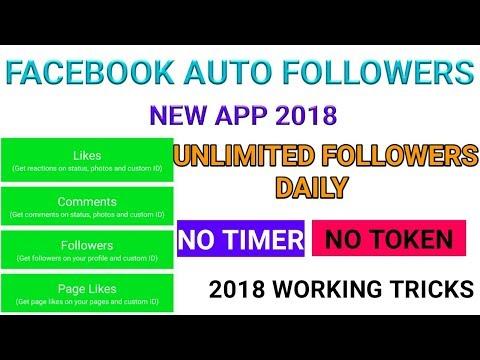 unlimite facebook followers