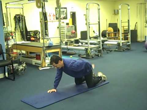 Core Exercise for Golfers with Low Back Pain