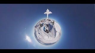Экстремальный фрирайд 360: путешествие по долинам Шерегеша на снегоходах