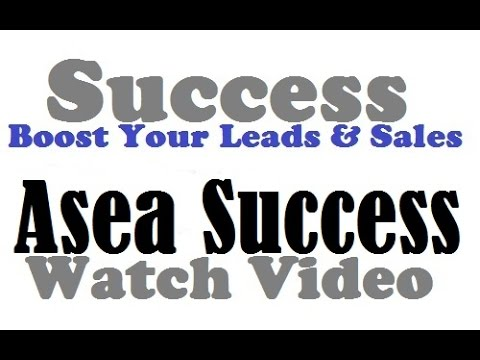 Asea Review|The Secret To Getting More Leads For Your Asea Business