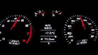 Audi A3 8P 1.8TFSI / Tune Stage 1.5 / 0-120MPH Run