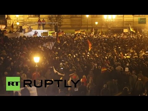 LIVE: PEGIDA spin-off DDfE holds second demo in Dresden