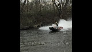 Jet Boat (homemade) Test Run