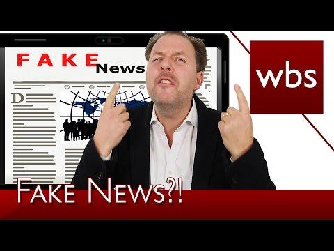 Gibt es überhaupt Fake News? | Rechtsanwalt Christian Solmecke